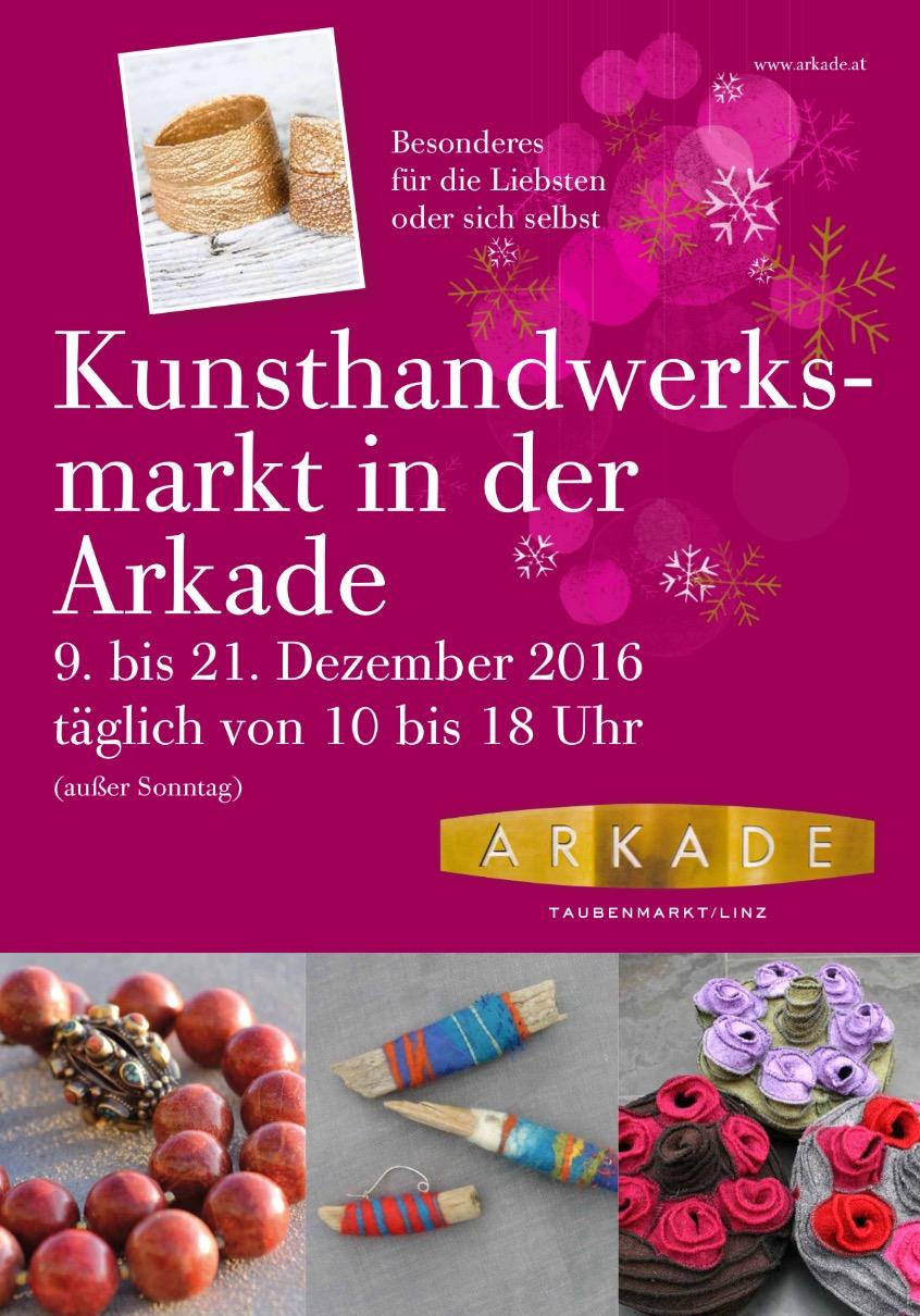 Weihnachtsverkauf in der Arkade Linz | E°B Schmuck